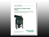 Free White Paper - Dust Collectors and Explosion Safety: Venting and Suppression